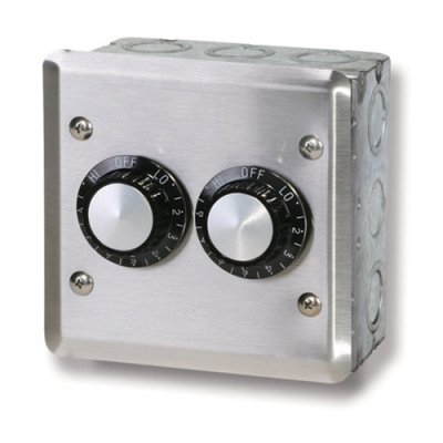 120 V In-Wall Double Control Assembly