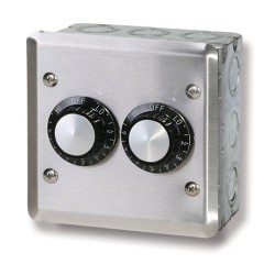 240 V In-Wall Double Control Assembly