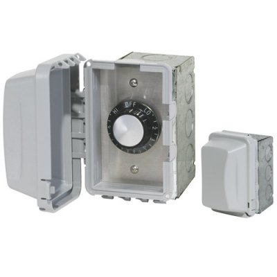 240 V In-Wall Single Control Weatherproof Assembly