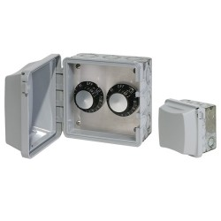 240 V In-Wall Double Control Weatherproof Assembly