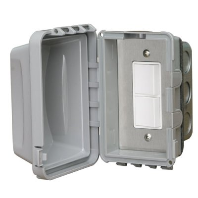 In-Wall Weatherproof Single Duplex Switch