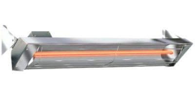 Single Element Infrared Radiant Quartz Heater