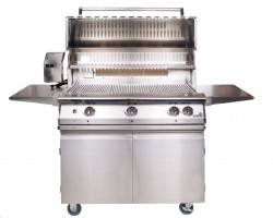 "Legacy 39"" Pacifica Gourmet Grill Head With Rotisserie Burner For Natural Gas"