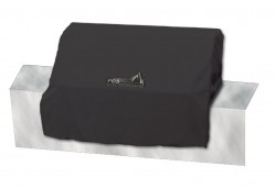 Legacy Black Weatherproof Cover For Pacifica or Pacifica Gourmet on Portable Cart Installation