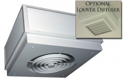 Commercial Fan Forced Surface Mounted Ceiling Heater