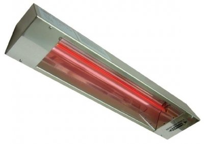 Outdoor Rated Stainless Steel Infrared Heater