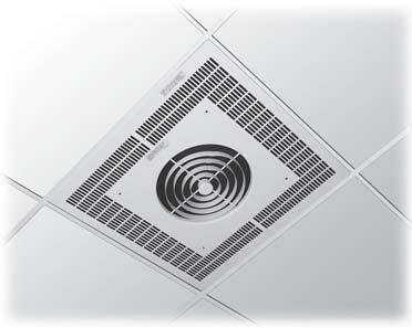 Venturi Design Recess Ceiling Heater