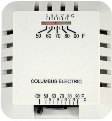 Wall Plate for Low Voltage Thermostats